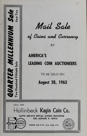 Quarter Millennium Sale, Part Two: Mail Sale of Coins and Currency