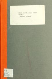 Quatre heures; ou, Le jour du supplice. mélodrame en trois actes de MM. St. Amand et Alexandre