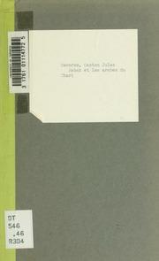 Rabah et les arabes du Chari; documents arabes et vocabulaire par Decorse et Gaudefroy-Demombynes