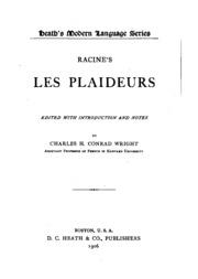 Racine-s Les plaideurs