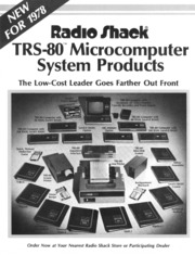 TRS-80 Radio Shack Computer Programming Book Microcomputers Mean Business