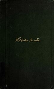 list of ralph waldo emerson essays