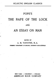 rape of the lock analysis essay The rape of the lock by alexander pope is what is known as a mock heroic epic, in that it follows many of the conventions of epic poetry while simultaneously satirizing epic as a genre the describe the rape of the lock as a mock epic.