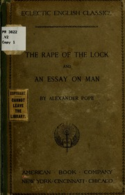 alexander pope essay on man audio Alexander pope - poet alexander pope was born an only child to alexander and edith pope pope published essay on man in 1734.