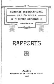 Vol 6: Rapports