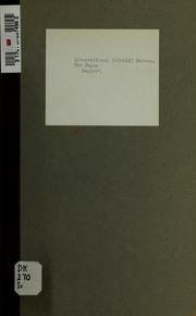 Rapport sur la préparation par le gouvernement soviétique des révoltes coloniales