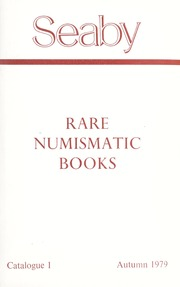 Rare Numismatic Books: Catalogue 1, Autumn 1979