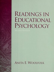 Readings in educational psychology hoy anita woolfolk 1947 readings in educational psychology hoy anita woolfolk 1947 free download borrow and streaming internet archive fandeluxe Choice Image