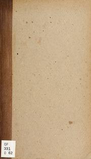 Recherches sur les granulations de la cellule nerveuse
