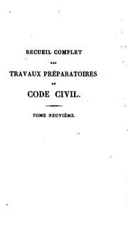 Recueil complet des travaux pr paratoires du code civil - Article 675 du code civil ...