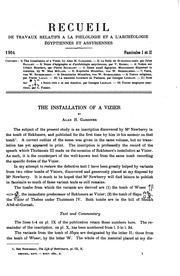 Vol 26-27: Recueil de travaux relatifs à la philologie et à l-archéologie égyptiennes et assyriennes