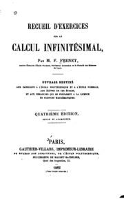 Recueil d-exercices sur le calcul infinitésimal
