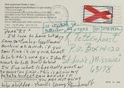Lanny Reinhardt Correspondence, 1993