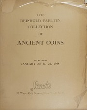 The Reinhold Faelten Collection of Ancient Coins