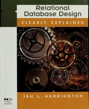 Free relational explained ebook clearly download design database