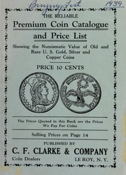 Picture of The Reliable Premium Coin Catalogue and Price List [Prices Paid For List]