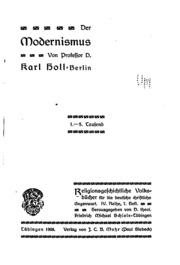 Religionsgeschichtliche Volksbücher für deutsche christliche Gegenwart