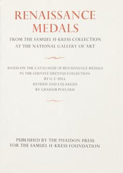 Renaissance Medals from the Samuel H Kress Collection at the National Gallery of Art