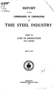 an introduction to the united states steel industry Trading rights and wrongs: the 2002 bush steel kevin k ho,trading rights and wrongs: the 2002 bush steel selected foreign steel entering the united states.