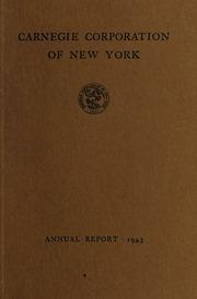 Annual Report, 1943