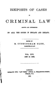 criminal law case digest A supplement to the illinois handbook of criminal law decisions containing  summaries of cases decided since publication of the handbook, organized by  topic.
