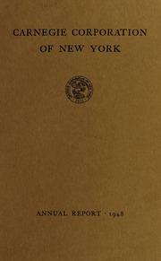 Annual report, 1948