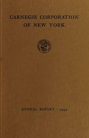 Annual report, 1949