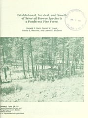 usda forest service research papers Source: usda forest service pnw old series research paper no 16: 1-48  publication series: research paper (rp) station: pacific northwest research.