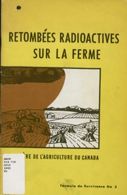 Retombees radioactives sur la ferme