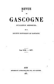 Vol 18: Revue de Gascogne