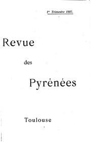 Vol 19: Revue des Pyrénées..