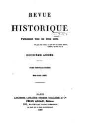 Vol 34: Revue historique