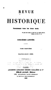 Vol 30: Revue historique