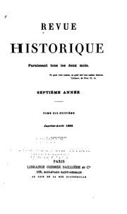 Vol 18: Revue historique