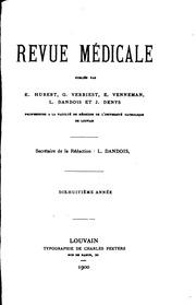 Revue médicale