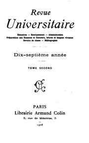 Vol 17: Revue universitaire