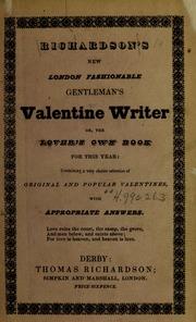 Richardson's New London fashionable gentleman's valentine ...