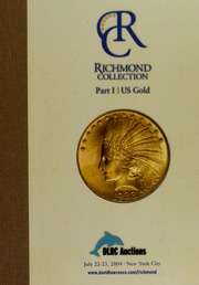 Richmond Collection, Part I: US Gold