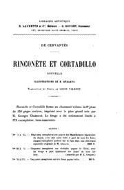 Rinconète et Cortadillo: nouvelle