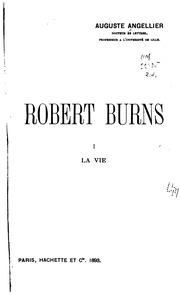 Vol 1: Robert Burns ...
