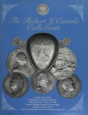 Robert J. Centola Collection