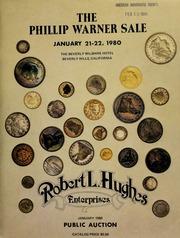 Robert L. Hughes Enterprises announces the Phillip Warner ... public auction and mail bid sale ... [01/21-22/1980]