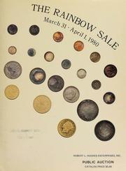 Robert L. Hughes Enterprises announces the rainbow ... public auction and mail bid sale ... [03/31/1980]