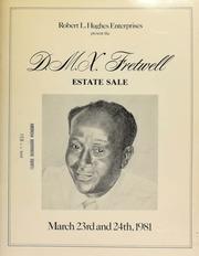 Robert L. Hughes Enterprises presents the D.M.X. Fretwell estate ... public auction and mail bid sale ... [03/23-24/1981]