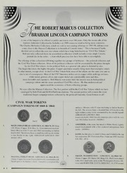 Robert Marcus Collection of Lincoln Campaign Tokens