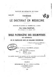 Le médicament contre les helminthes le bon