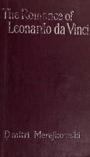 The Romance Of Leonardo Da Vinci Merezhkovsky Dmitry