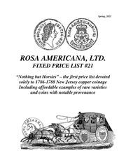 Rosa Americana Fixed Price List #21
