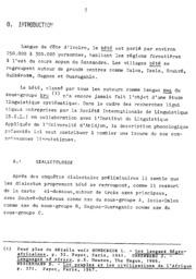 Phonologie and Morphonologie du bété de la région de Guiberoua