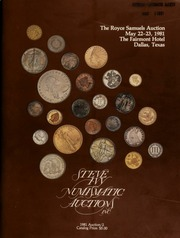 The Royce Samuels auction, featuring coins from over 175 different consignors ... [05/22-23/1981]